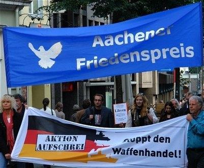 Aachener Friedenspreis   Geistbraus