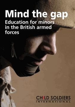 Mind the Gap: Education for minors in the British armed forces
