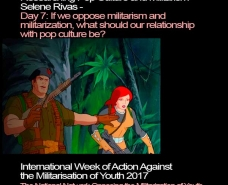 Researching Pop Culture and Militarism: If we oppose militarism and militarization, what should our relationship with pop culture be?