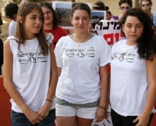 Young Israeli women who refused to serve in the IDF